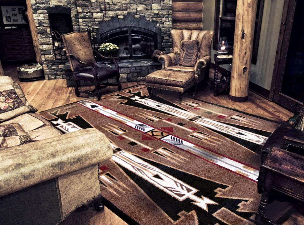 11x13 area rug room scene